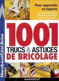 1.001 trucs et astuces de bricolage : pour apprentis et experts : électricité, plomberie, décoration, réparatin, maçoonerie, voiture...