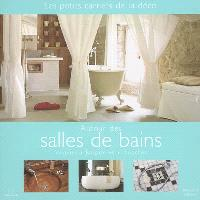Autour des salles de bains : vasques, baignoires, douches