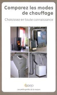 Comparez les modes de chauffage : choisissez en toute connaissance