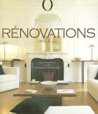 Grandes rénovations : redonner vie à des maisons anciennes