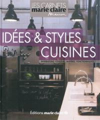 Idées & styles cuisines : inspirations, couleurs, matières, fonctionnalités...