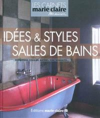 Idées & styles salles de bains : inspirations, couleurs, matières, fonctionnalités...