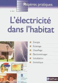 L'électricité dans l'habitat