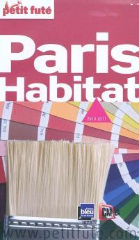 Paris habitat : 2010-2011