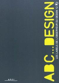Abc... design : les labels de l'Observeur du design 12