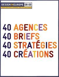 DesignInEurope 08-09 : 40 agences, 40 briefs, 40 stratégies, 40 créations