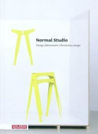 Normal studio : design élémentaire = Normal studio : elementary design