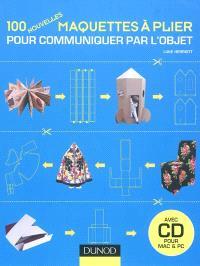 100 nouvelles maquettes à plier pour communiquer par l'objet