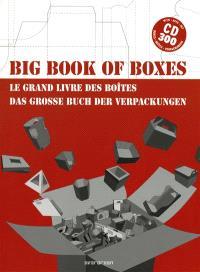 Big book of boxes = Le grand livre des boîtes = Das grosse Buch des Verpackungen