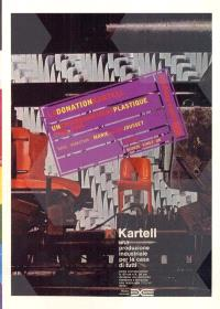 La donation Kartell : un environnement plastique, 1949-2000