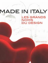 Made in Italy : les grands noms du design