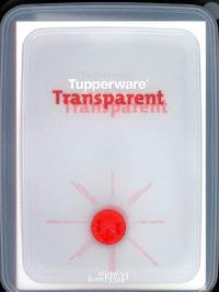 Tupperware transparent