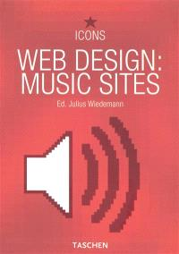 Web design : music sites