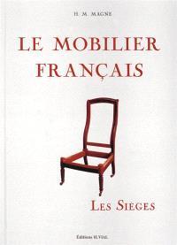Le mobilier français : les sièges