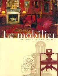 Le mobilier : du XVIIIe siècle à l'art déco