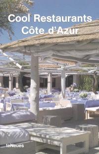 Cool restaurants Côte d'Azur