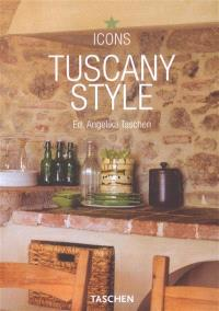 Tuscany style : landscape, terraces and houses, interiors details