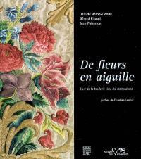 De fleurs en aiguille : l'art de la broderie chez les visitandines