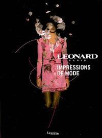Léonard Paris : impressions de mode