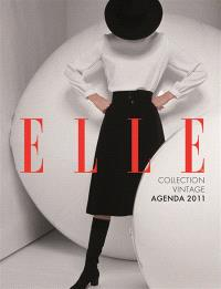 Agenda Elle 2011 : collection vintage