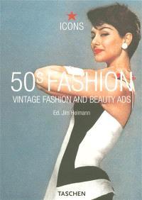 50s fashion : vintage fashion and beauty ads