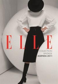 Agenda Elle 2011 : noir et blanc