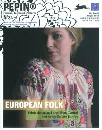 European folk : fabric design and dress from Central and South-Eastern Europe