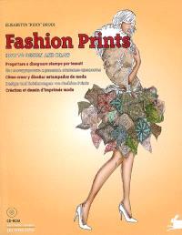 Fashion prints : how to design and draw : création et dessin d'imprimés mode