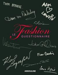 Fashion, le questionnaire