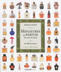 Miniatures de parfum de collection : de 1800 à nos jours