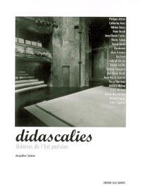 Didascalies : théâtres de l'Est parisien