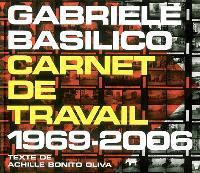 Carnet de travail : 1969-2006