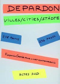 Villes; Cities; Städte
