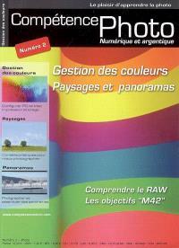 Compétence photo. n° 2, Gestion des couleurs, paysages et panoramas