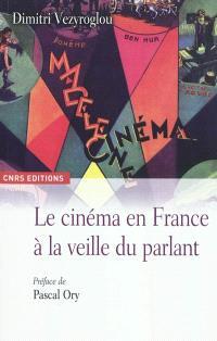 Le cinéma en France à la veille du parlant : un essai d'histoire culturelle