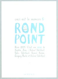 Rond-Point. n° 6, Roland Dubillard en marge