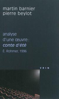 Analyse d'une oeuvre : Conte d'été, Eric Rohmer, 1996