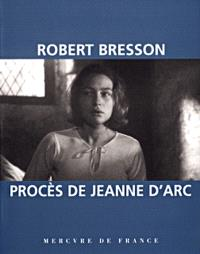 Procès de Jeanne d'Arc : film