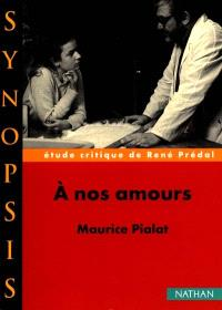 A nos amours, Maurice Pialat