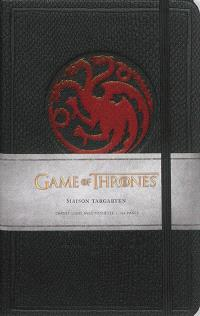 Carnet luxe Targaryen : Game of thrones : maison Targaryen