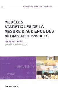 Modèles statistiques de la mesure d'audience des médias audiovisuels