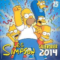 Les Simpson : calendrier 2014
