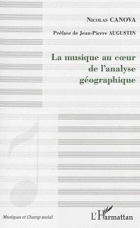 La musique au coeur de l'analyse géographique