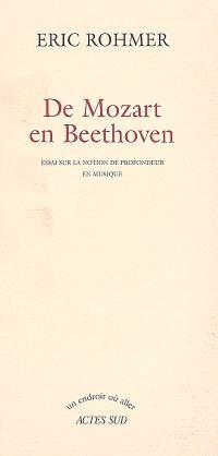 De Mozart en Beethoven : essai sur la notion de profondeur en musique