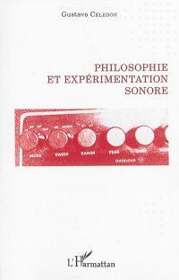Philosophie et expérimentation sonore