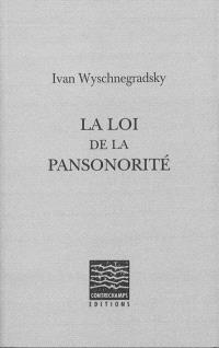 La loi de la pansonorité