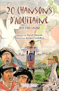 20 chansons d'Aquitaine qu'il faut savoir