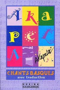 Akapela : chants basques