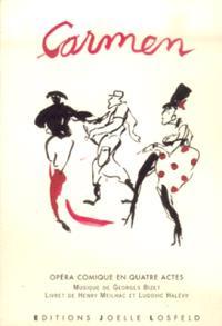 Carmen : opéra comique en quatre actes