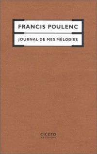 Journal de mes mélodies